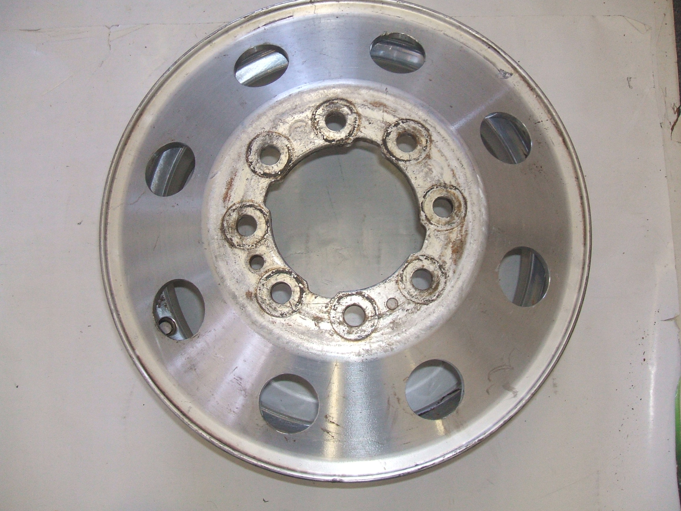 "Used Ford F350 Dually Wheels >> Ford F350 94-97 16"" Rear Dually Wheel 3142 P/N F4TA-1007-HA"
